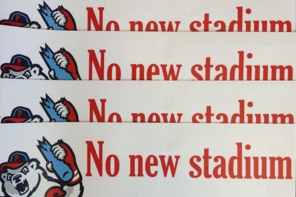 no stadium
