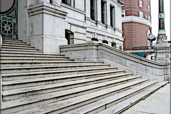 city hall steps