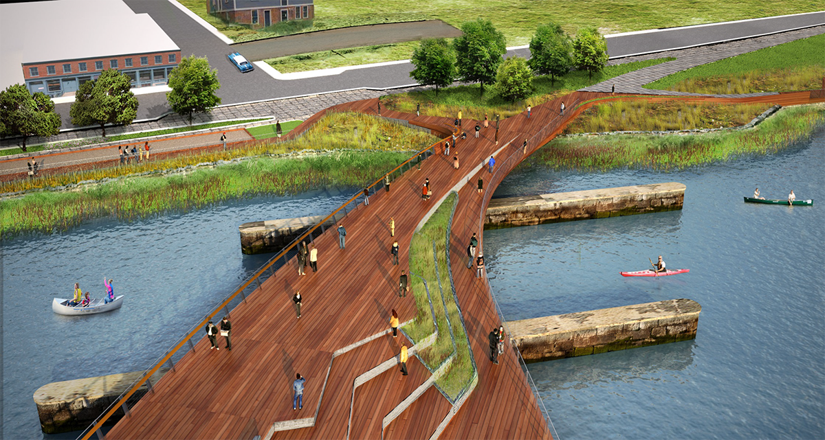 Another Pedestrian Bridge Pipeline on Space July 29 August 2