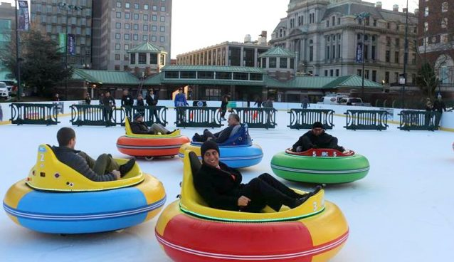 Bumper Cars On Ice Providence Daily Dose