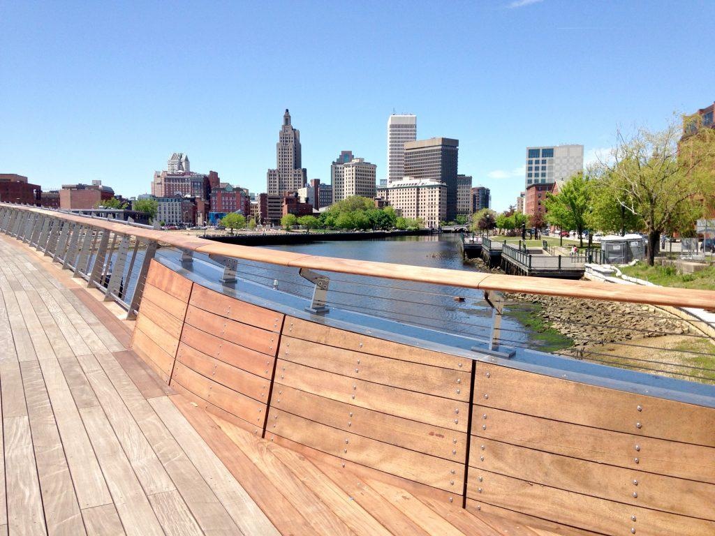 Pedestrian Bridge Ribbon Cutting Providence Daily Dose