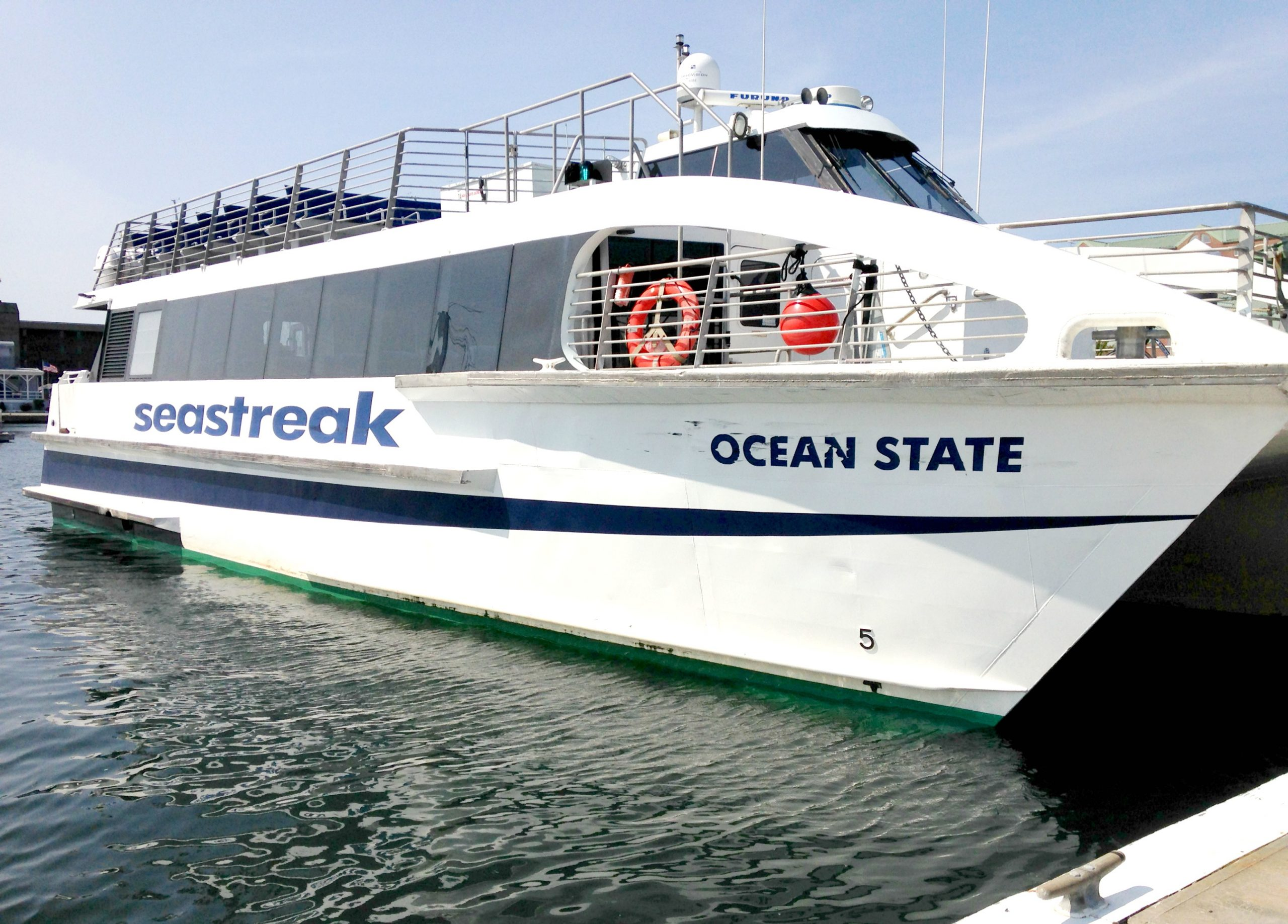 RI leaders tout Providence-Newport ferry   WJAR